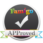 """Famigo APProved badge for Best iPad Apps"""